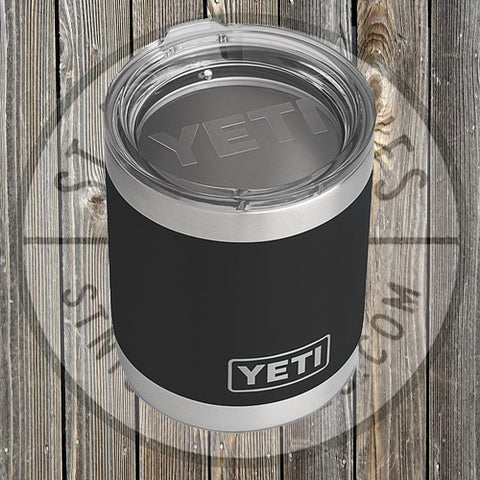 YETI - 10oz - Lowball - 21071010006 - Black - YRAM10BK