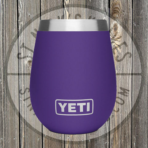 YETI - 10oz - Wine Tumbler - 21090000041 - Peak Purple - YTUM10PP