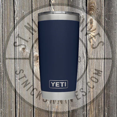 6d82b11a789 YETI - Rambler - Navy Blue - 20oz w/ MS - YRAM20NB