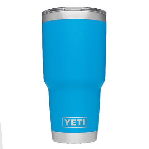 YETI Coolers - Rambler - 30oz - Tahoe Blue - W/MS Lid - 888830021873 - St. Nick's Knives