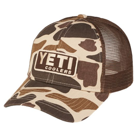 YETI Coolers - Trucker Hat - Camo w/ Patch - YHC - St. Nick's Knives