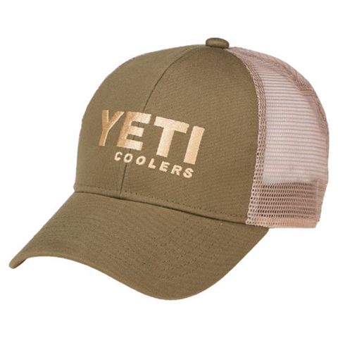 YETI Coolers - Trucker Hat - Green - YHOG - St. Nick's Knives