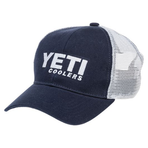 YETI Coolers - Trucker Hat - Navy - YHNA - St. Nick's Knives