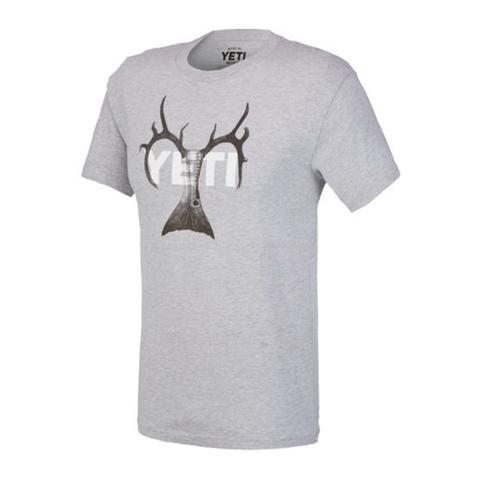 YETI Coolers - Whitetail Redfish Combo T-Shirt - Gray - YTSWRGR - St. Nick's Knives
