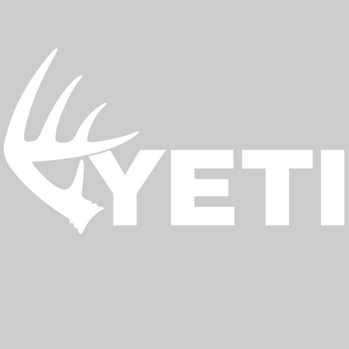 YETI Coolers - Whitetail Shed - Window Decal - YSDDEER