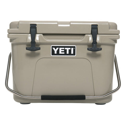 Yeti Coolers - Roadie Cooler - 20 Quart - Tan - YR20T - St. Nick's Knives