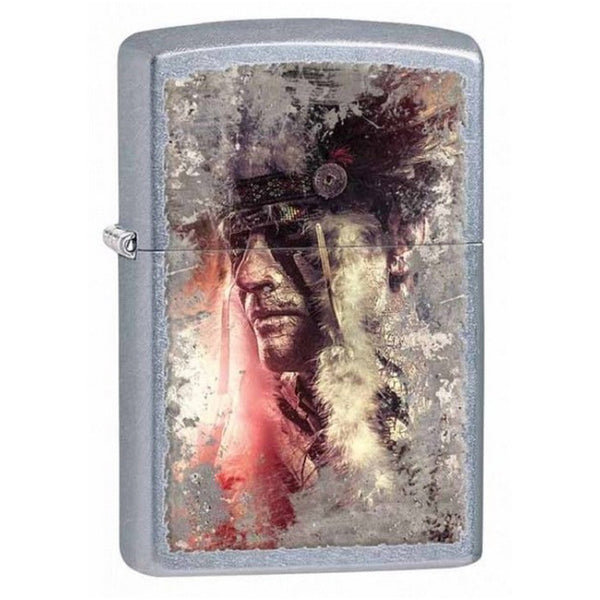 Zippo - Indian Headpiece Lighter - 28868