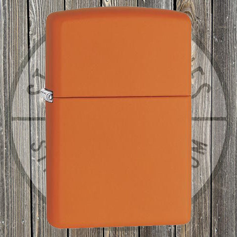 Zippo - Regular Orange Matte LTR - 231
