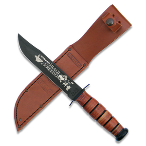 KA-BAR Knives - Iraqi Freedom - USMC Commemorative - Plain Edge - 9128 - St. Nick's Knives
