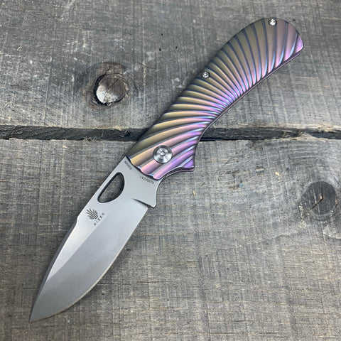 St. Nick's Custom Anodized Knives