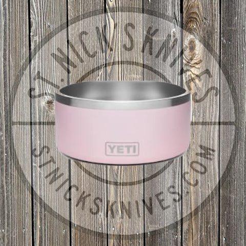 YETI - Boomer 8 - Dog Bowl - Ice Pink - YBOOM8IPK