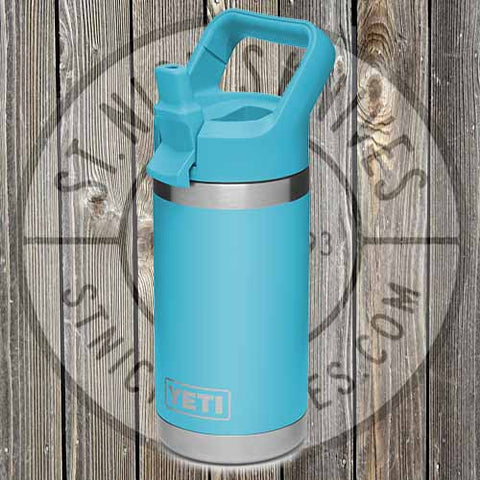 YETI - 12oz - Rambler Jr - 21071500018 - Reef Blue - YRAMJr12RB