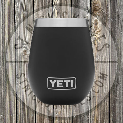 YETI - 10oz - Wine Rambler - 888830031858 - Black - YTUM10B