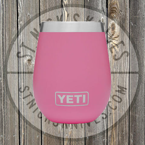 YETI - 10oz - Wine Rambler - 888830041017 - Harbor Pink - YTUM10HP