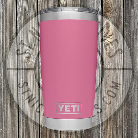 YETI - Rambler -  21070060031 - Harbor Pink - 20oz w/ MS - YRAM20HP