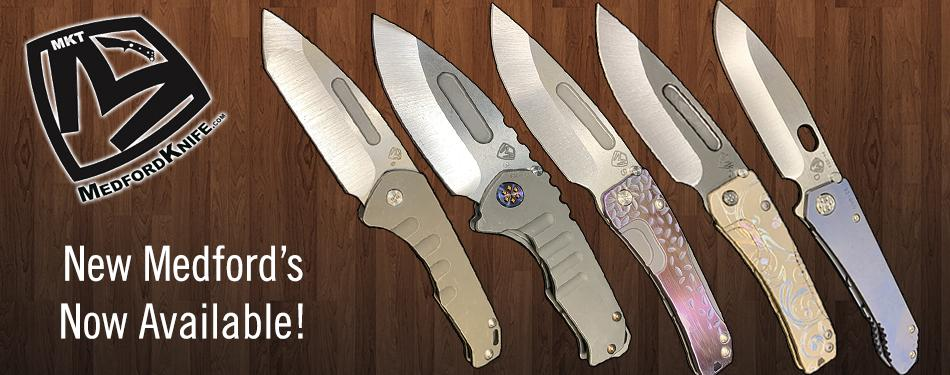 New Medford Knife and Tool Knives Now Available - St. Nick's Knives Available - St. Nick's Knives