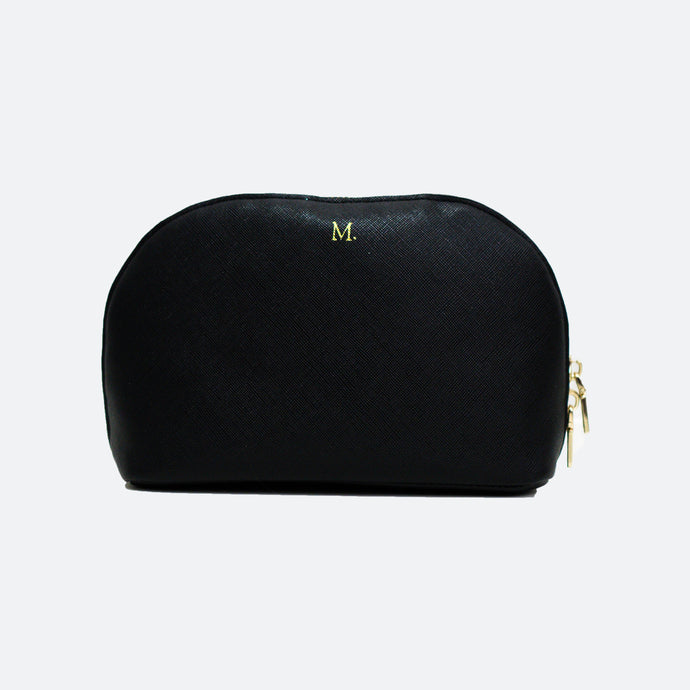 Melanie Beauty Pouch - Black - Kastemize