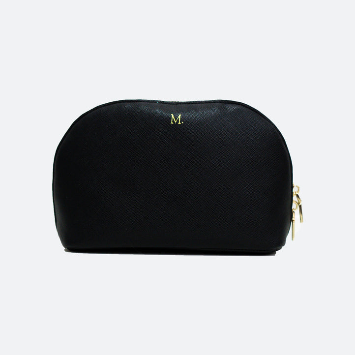 Melanie Beauty Pouch in Black - Kastemize