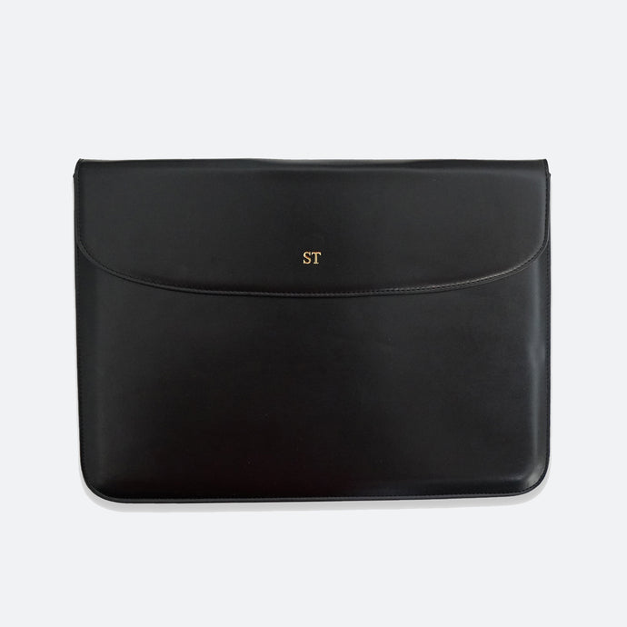 Mendes Laptop Sleeve in Black - Kastemize