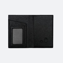 Load image into Gallery viewer, Avery Passport Holder in Black - Kastemize