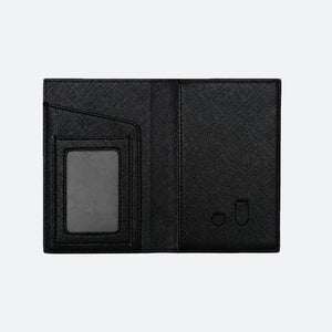 Avery Passport Holder in Black - Kastemize