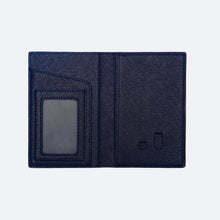 Load image into Gallery viewer, Avery Passport Holder in Midnight Navy - Kastemize