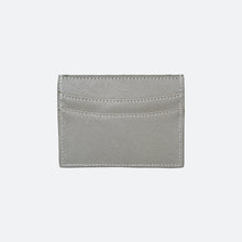 Load image into Gallery viewer, Blake Saffiano Card Holder in Ash Grey - Kastemize
