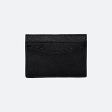 Load image into Gallery viewer, Elijah Saffiano Cardholder in Black - Kastemize