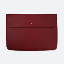 Load image into Gallery viewer, Hayden Laptop Sleeve in Burgundy - Kastemize