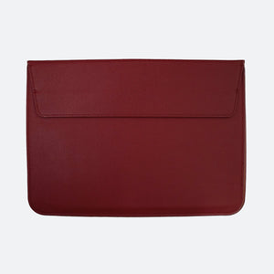 Hayden Laptop Sleeve in Burgundy - Kastemize
