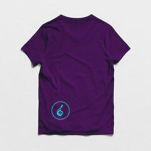 Music is Unity Classic Unisex Tee Purple