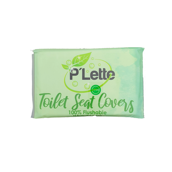 P'lette Toilet Seat Cover (Travel Pack)
