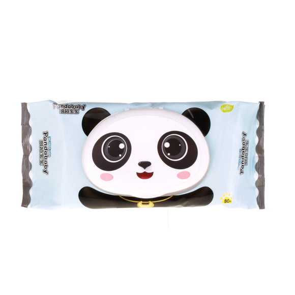 Panda Baby Gentle Blue Baby Wipes - Flushable (SOLD OUT-RESTOCK SOON)