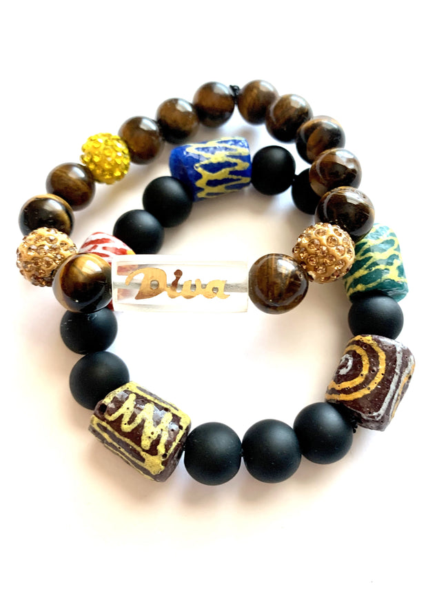 Diva - 'Affirm Her' Stackable Beads (2)