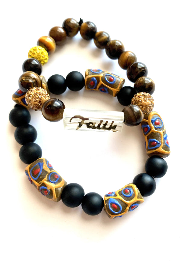 Faith - 'Affirm Her' Stackable Beads (2)