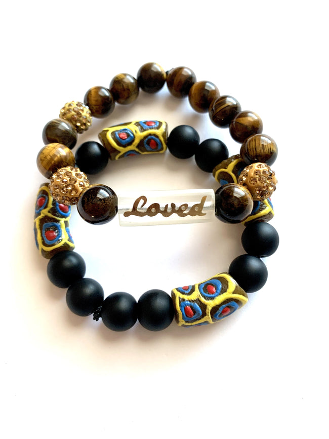 Loved - 'Affirm Her' Stackable Beads (2)