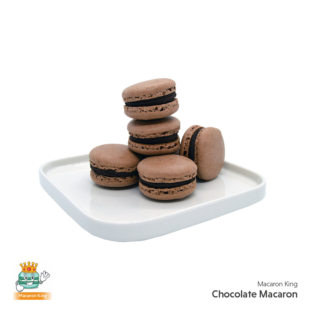 Cafe Macaron Chocolate ( 12 or 24 Pcs )