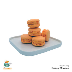 Cafe Macaron Orange ( 12 or 24 Pcs )