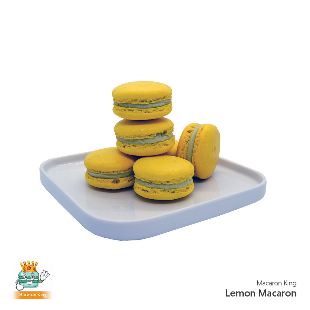 Cafe Macaron Lemon ( 12 or 24 Pcs )