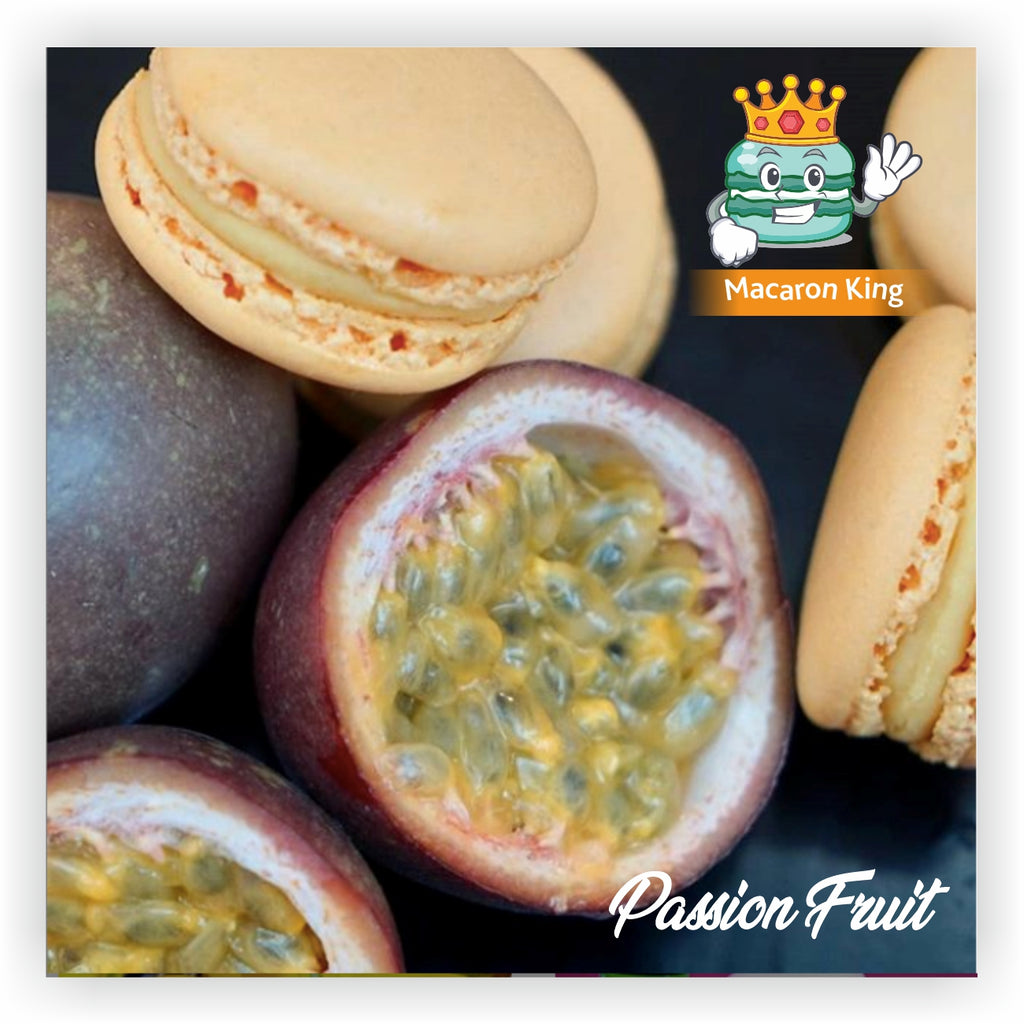 Cafe Macaron Passion Fruit ( 12 or 24 Pcs )