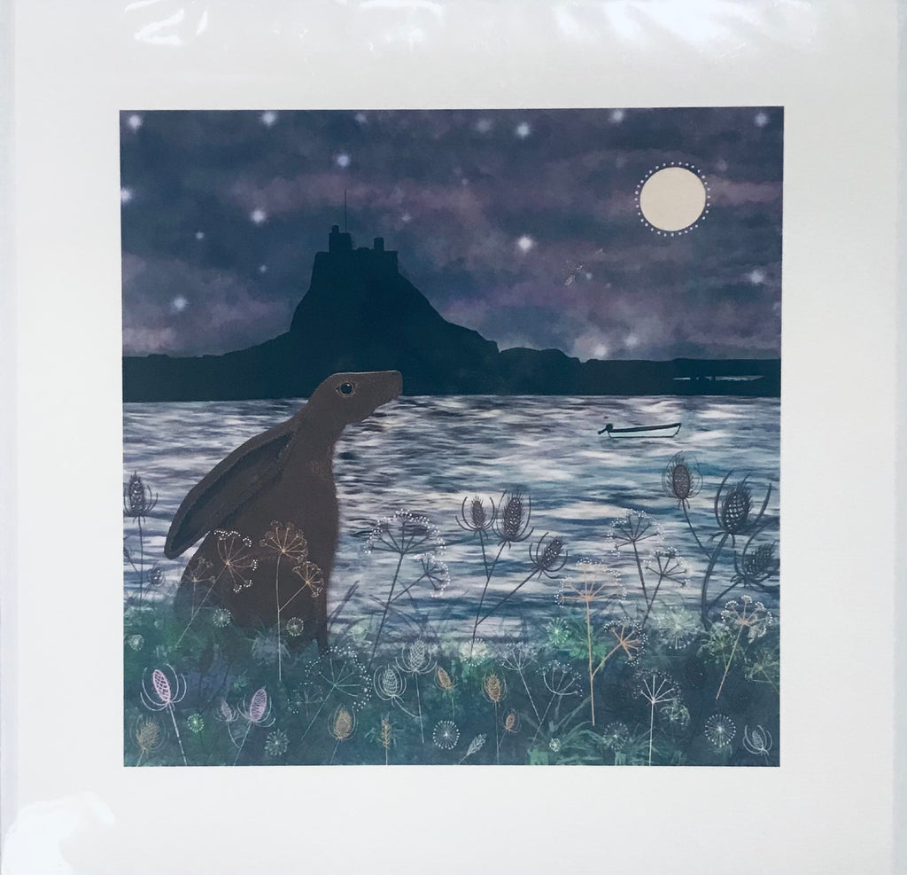 Mounted Print - Hare