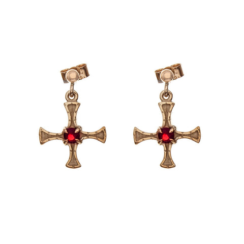 St. Cuthbert - Earrings