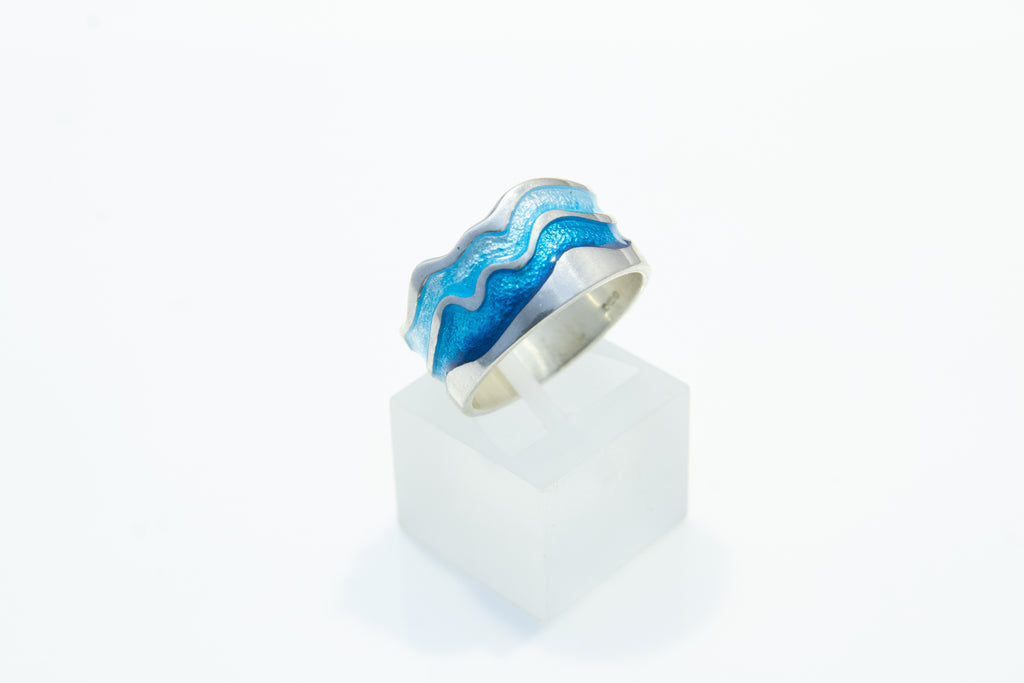 Sheila Fleet River Ripples Ring