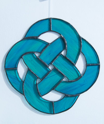 Stained Celtic Knot
