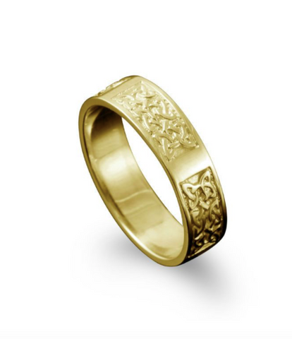 Celtic Gold Ring