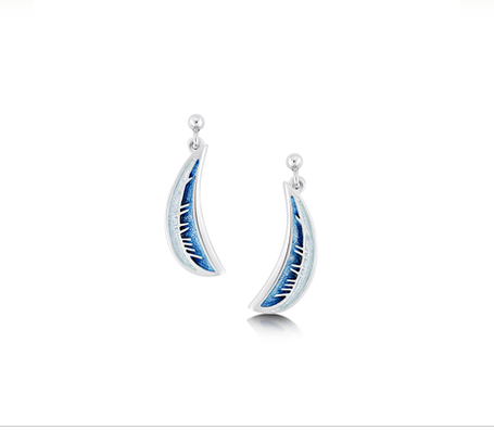 Sheila Fleet Skyran earrings