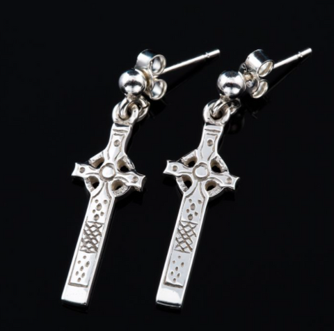 St Johns Cross - Earrings