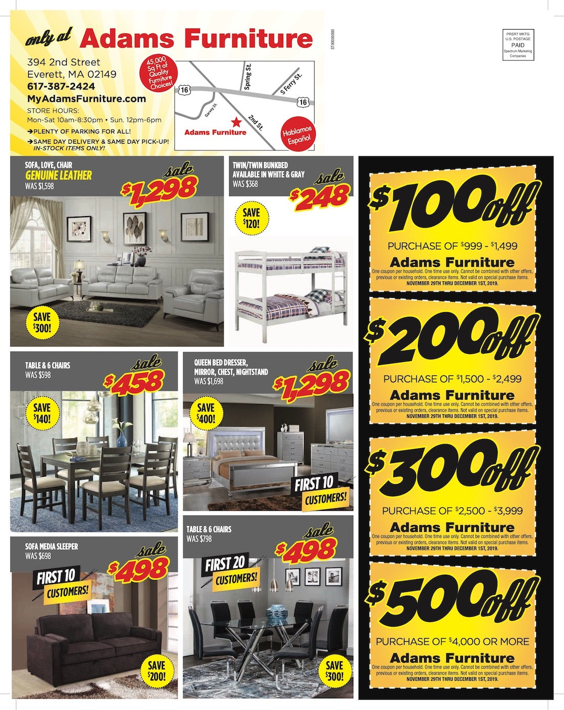 Black Friday Flyer Page 2