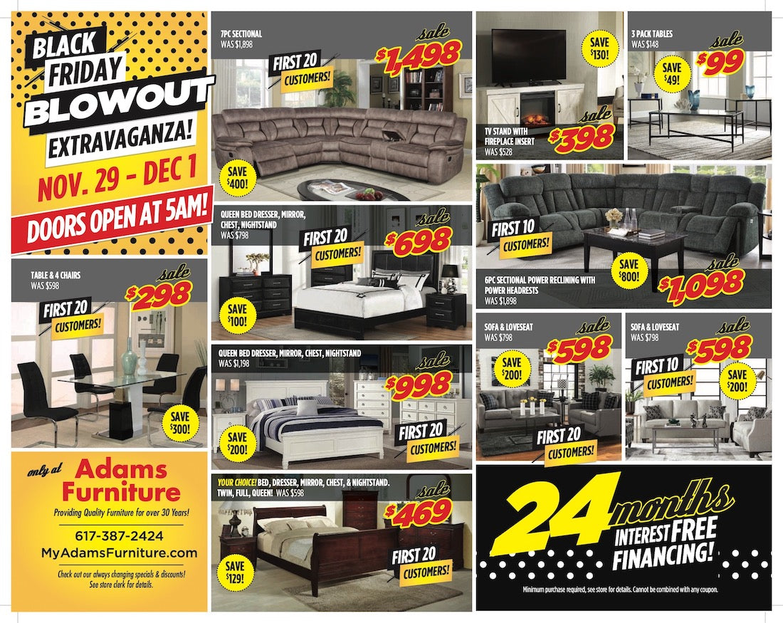Black Friday Flyer Page 1
