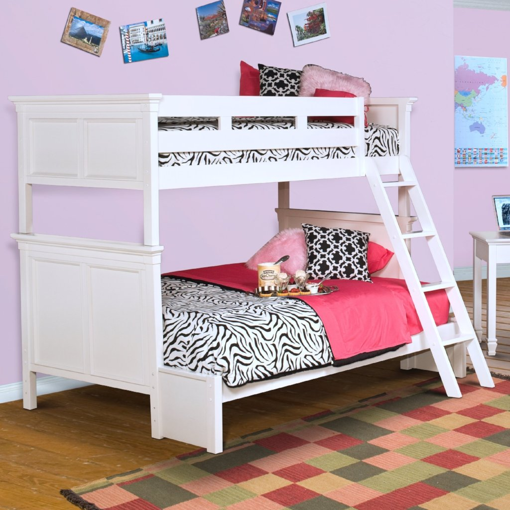 Tamarack Twin/Twin Bunk Bed with Full Conversion Kit, Bunk Bed, New Classic Furniture - Adams Furniture